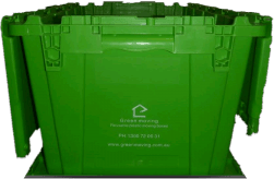 green moving box