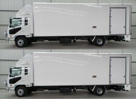 Truck Size 80m3 (2 x 40m3 truck)